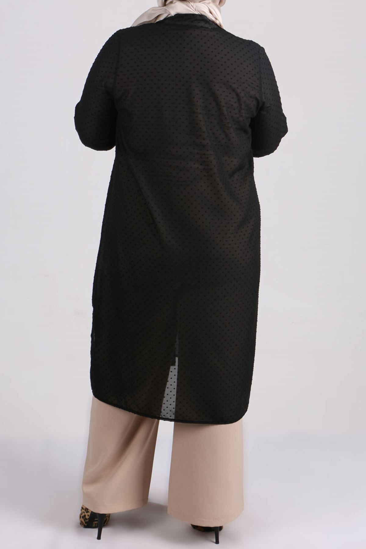 8457 Oversize Tunic- Black