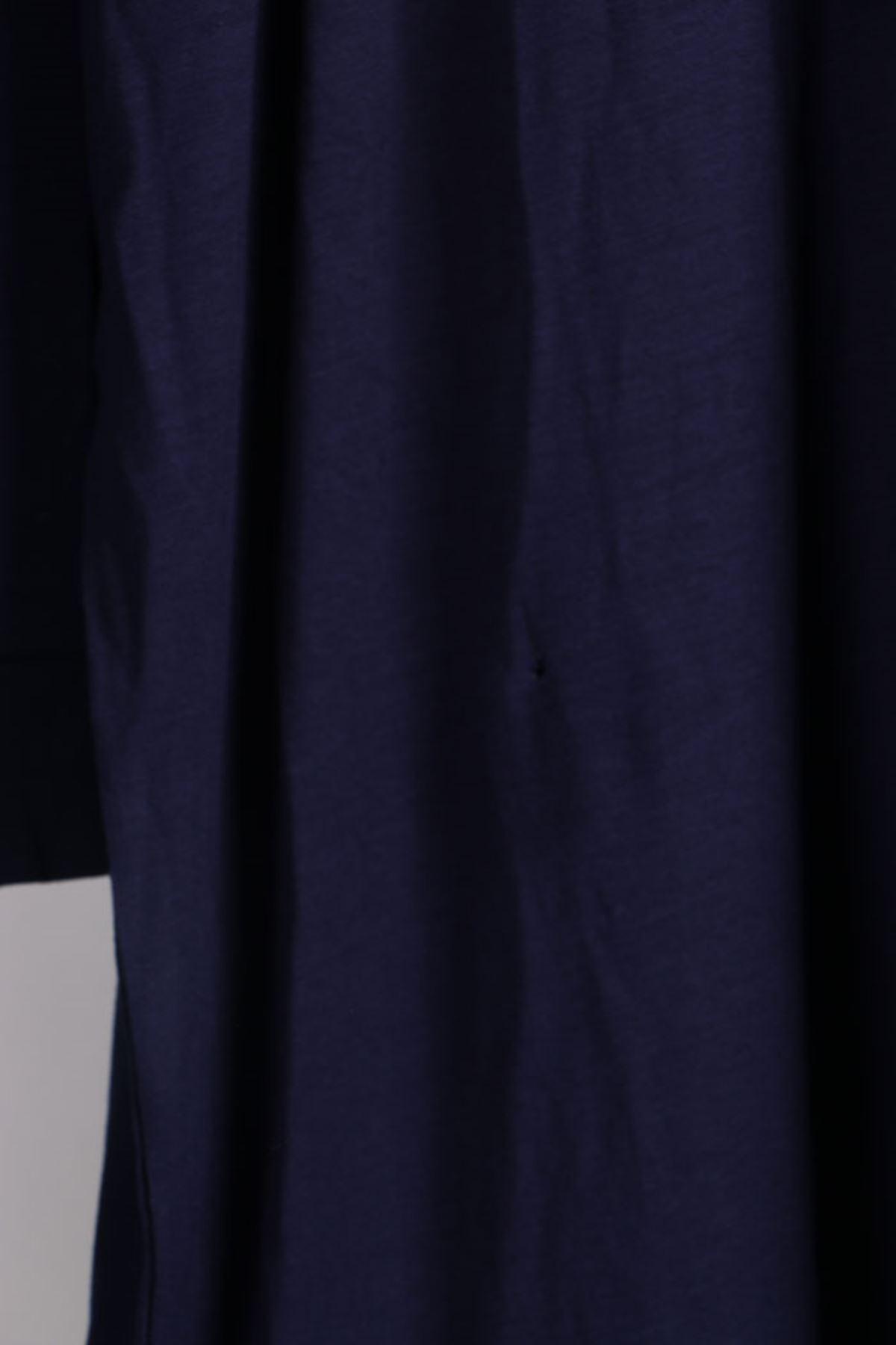 8438 Oversize Tunic - Navy Blue