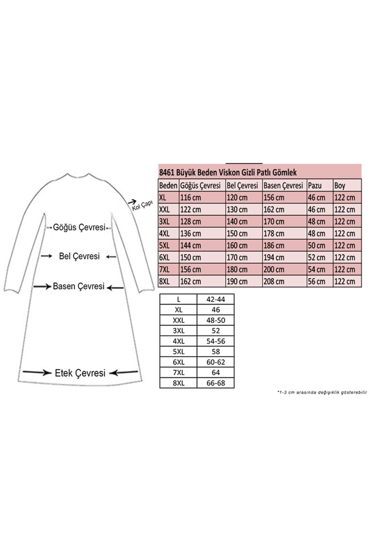 8461 Oversize Hidden Buttoned Shirt -Light Rose