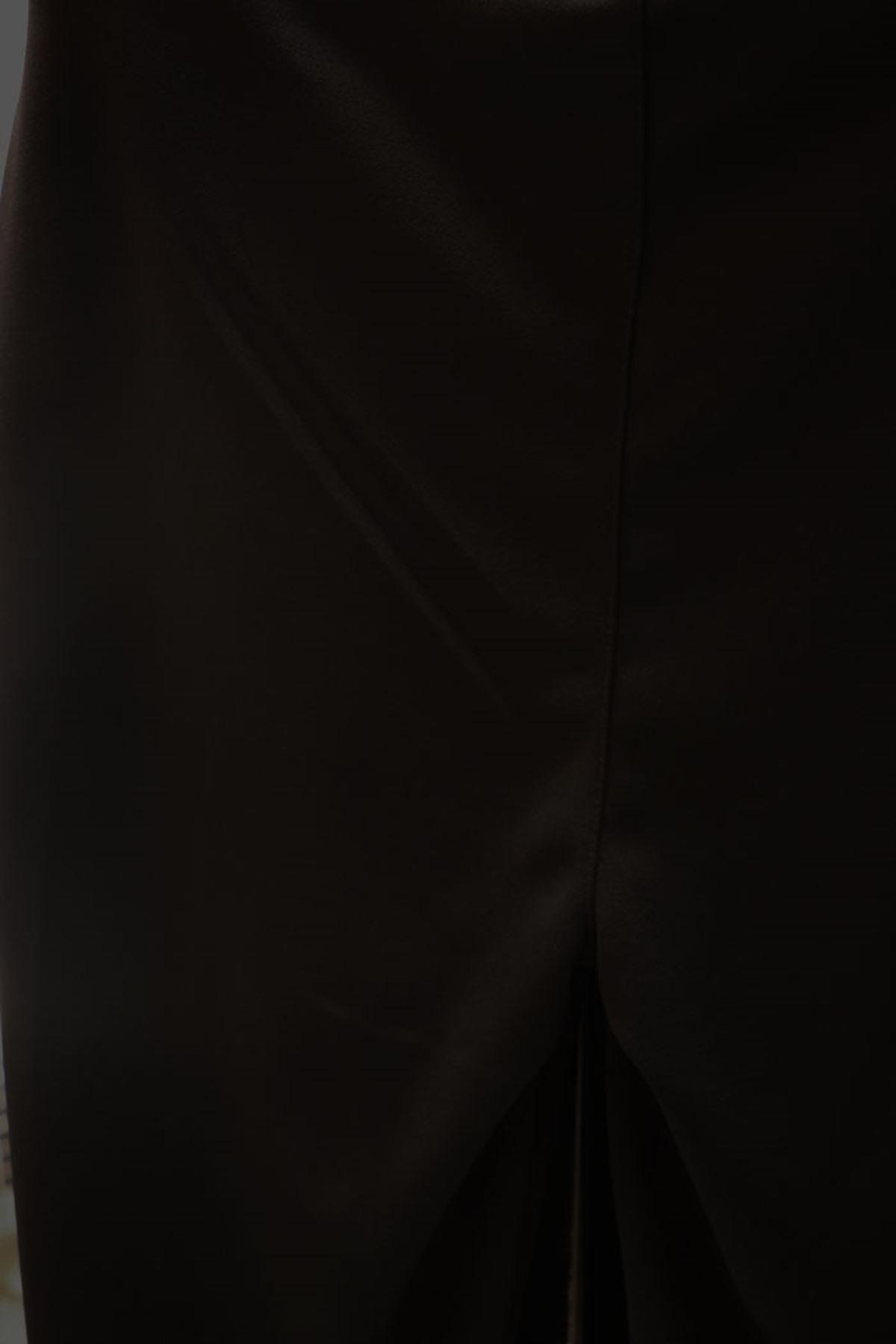 9533 Plus Size Scuba  Legging-Black